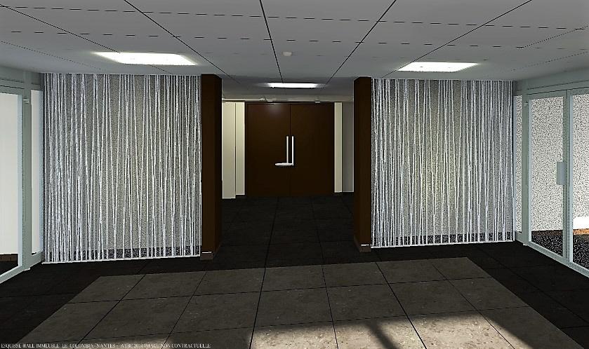 Bureau Immeuble Architecture : Immeuble de bureaux nantes