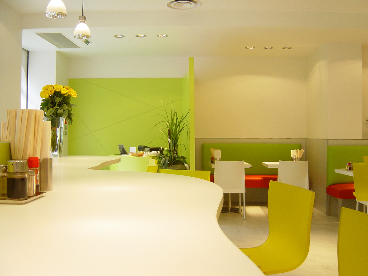 Restaurant zen for Mobilier japonais paris
